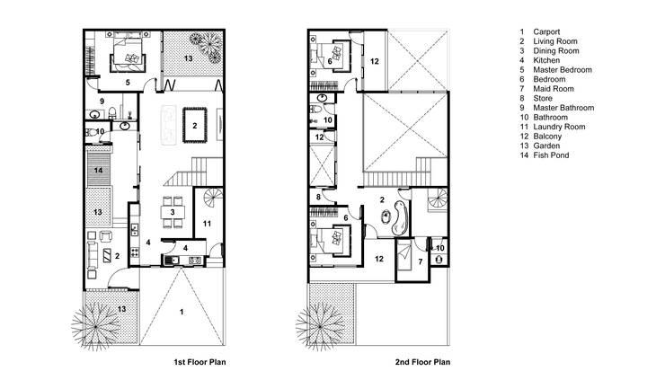 Floor Plan:   by Rekabentuk ID