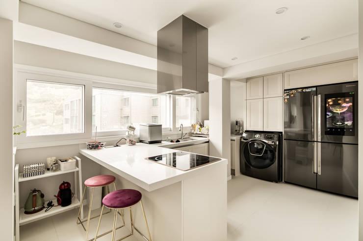 Cozinhas  por 봄디자인