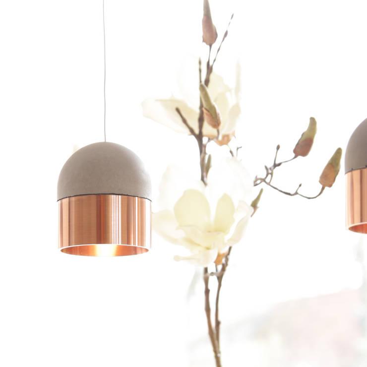 Betonleuchte PoCoCo Kupfer:  Wohnzimmer von 2488 Leuchten