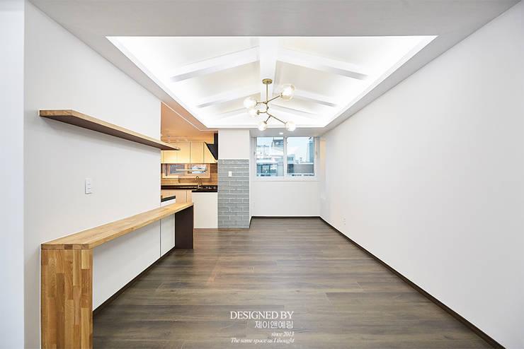 호계동 목련 우성 48PY: 제이앤예림design의  다이닝 룸