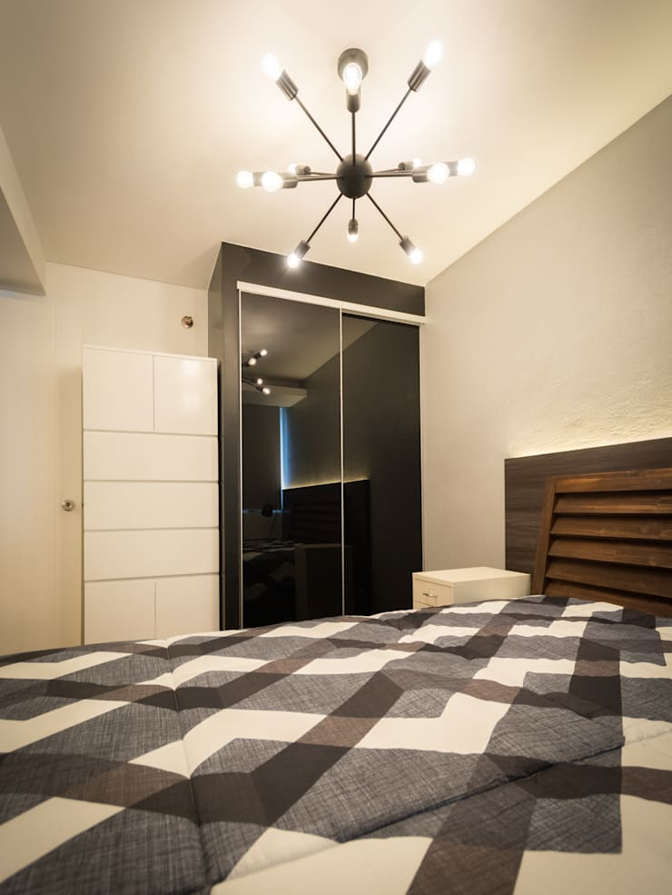 Seibu Tower Project / Golden Forum Land Inc.:  Bedroom by TG Designing Corner