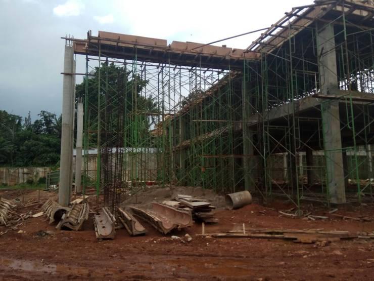 progres lapangan pembangunan :  Rumah by nakula arsitek studio
