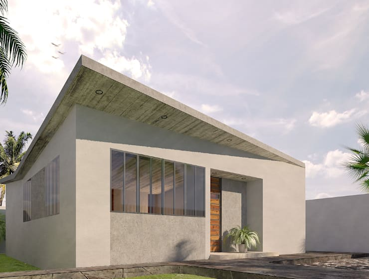 CH:  de estilo  por Zona Arquitectura Más Ingeniería