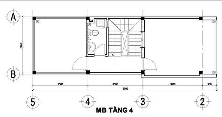 Terrace by Công ty Thiết Kế Xây Dựng Song Phát