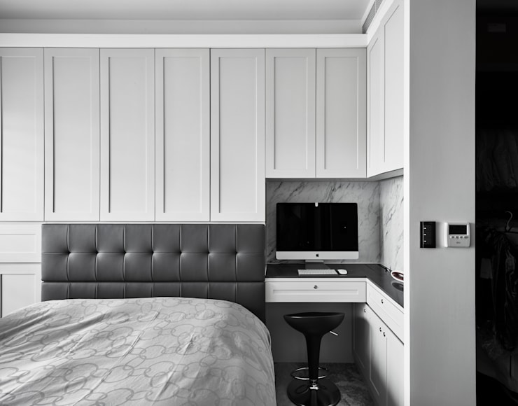 角:  臥室 by 耀昀創意設計有限公司/Alfonso Ideas