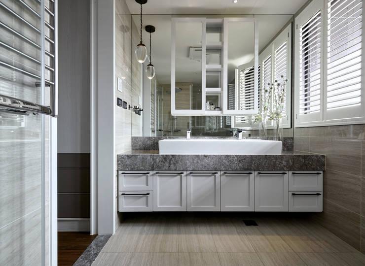 皇室的秘密:  浴室 by 耀昀創意設計有限公司/Alfonso Ideas