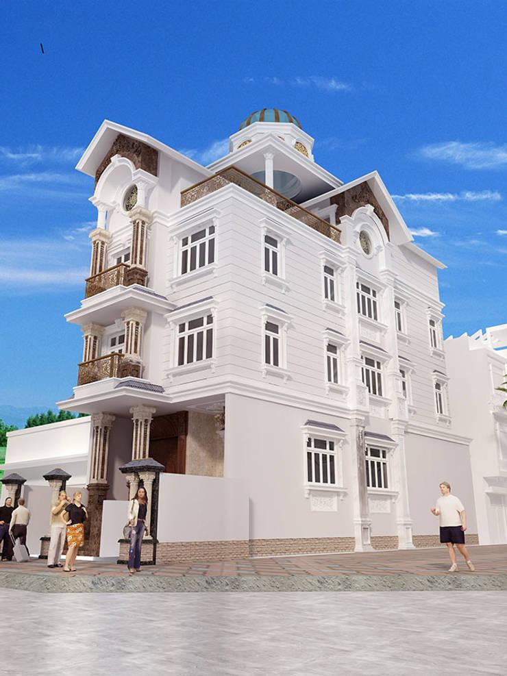 Biệt thự 3 tầng ông Thanh:   by Biet Thu Pho Dep