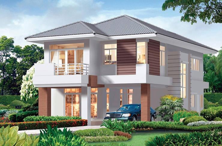Dự án biệt thự 2 tầng anh Luân – Bình Dương:   by Biet Thu Hien Dai