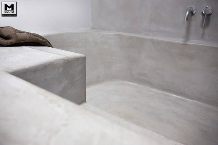 Badkamer Beton Interieur : Zo voeg je die mooie betonlook toe aan je badkamer