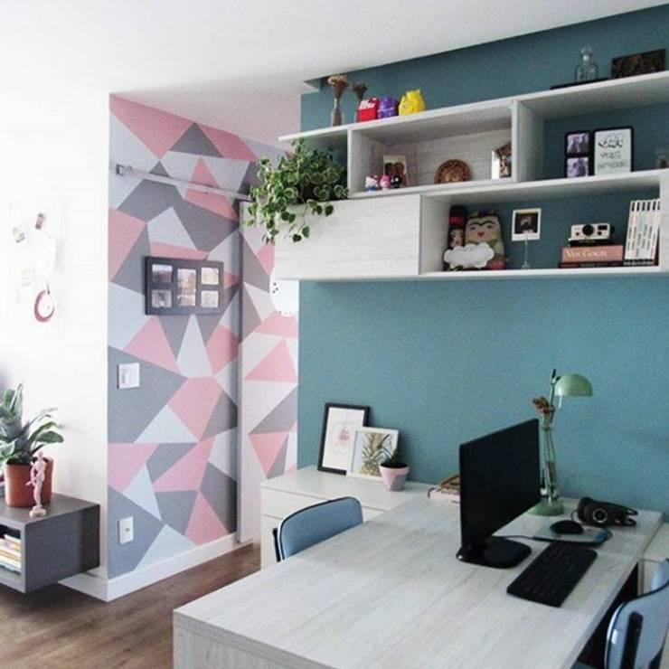 Home Office: Escritórios  por Marcena - Design e Móveis Sob Medida