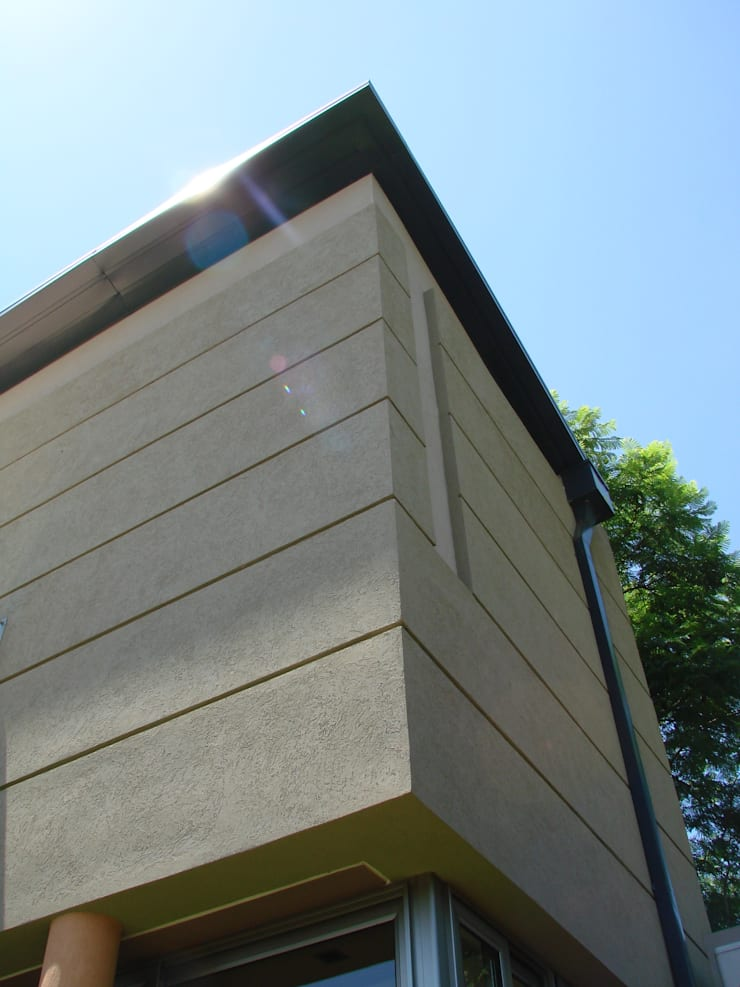 IP - Detalles 1: Casas de estilo  por Módulo 3 arquitectura