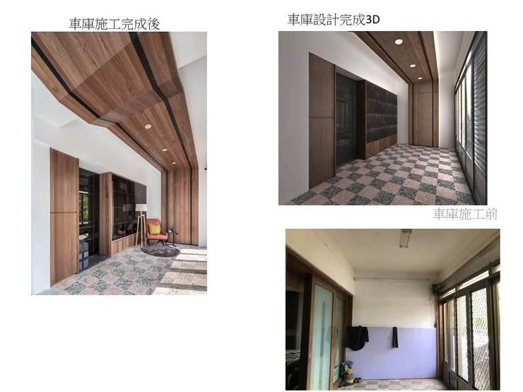 玄關概念:   by 鼎士達室內裝修企劃