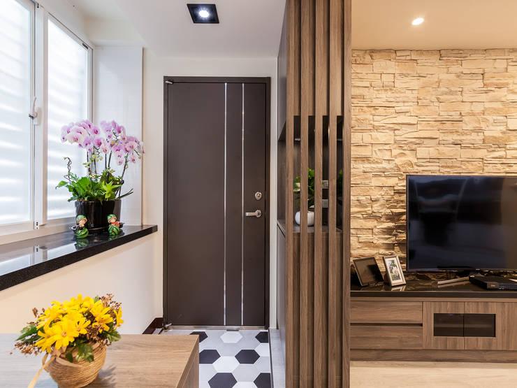 日常的溫度 木質調:  前門 by 好室佳室內設計
