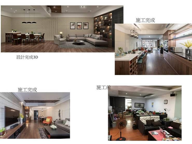 餐廳-改造:   by 鼎士達室內裝修企劃