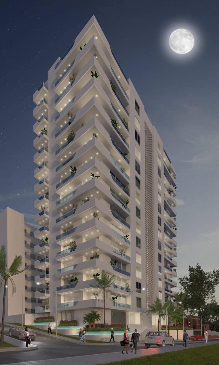 Torre La Castellana:  de estilo  por DIARQ diseño arquitectonico SAS