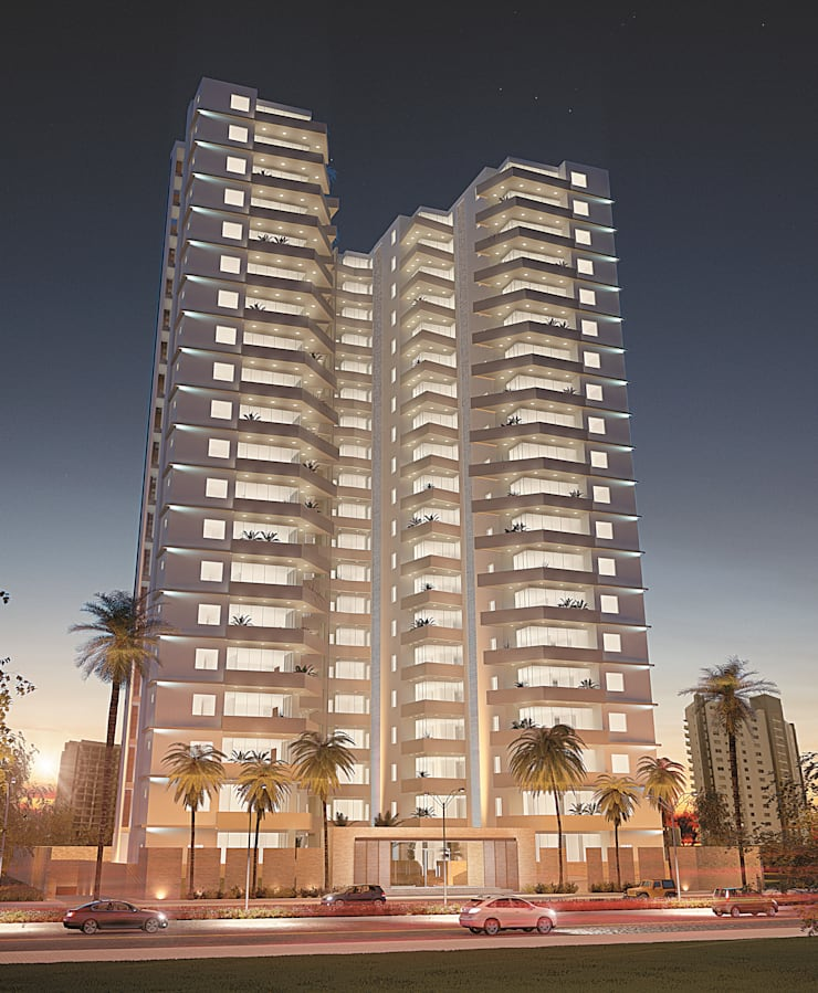 SANKARA PALMS:  de estilo  por DIARQ diseño arquitectonico SAS