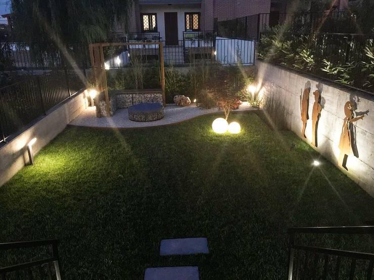 Luci da esterno per giardino come usare le luci segnapasso da