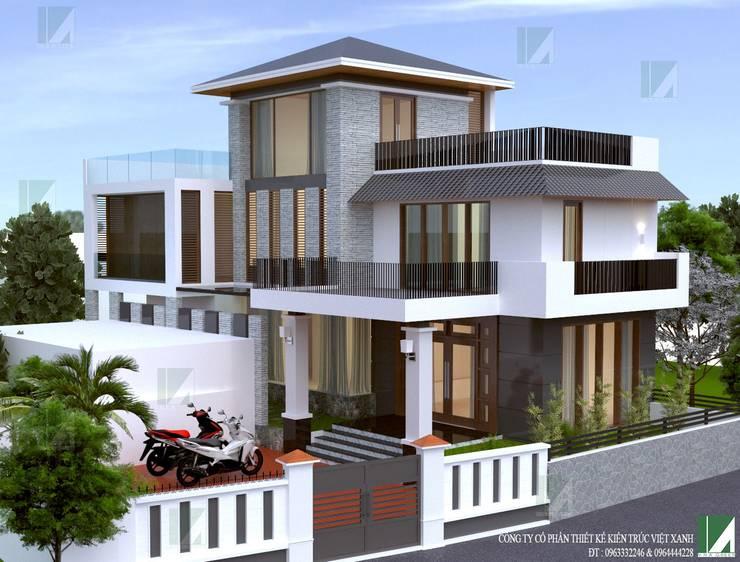 by công ty cổ phần Thiết kế Kiến trúc Việt Xanh,
