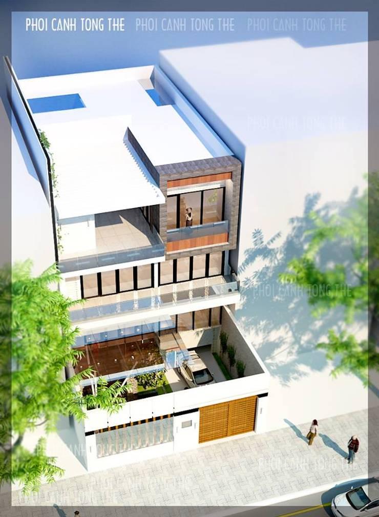 BIỆT THỰ LÔ PHỐ ANH VINH – THỦY NGUYÊN – THÀNH PHỐ HẢI PHÒNG :   by công ty cổ phần Thiết kế Kiến trúc Việt Xanh