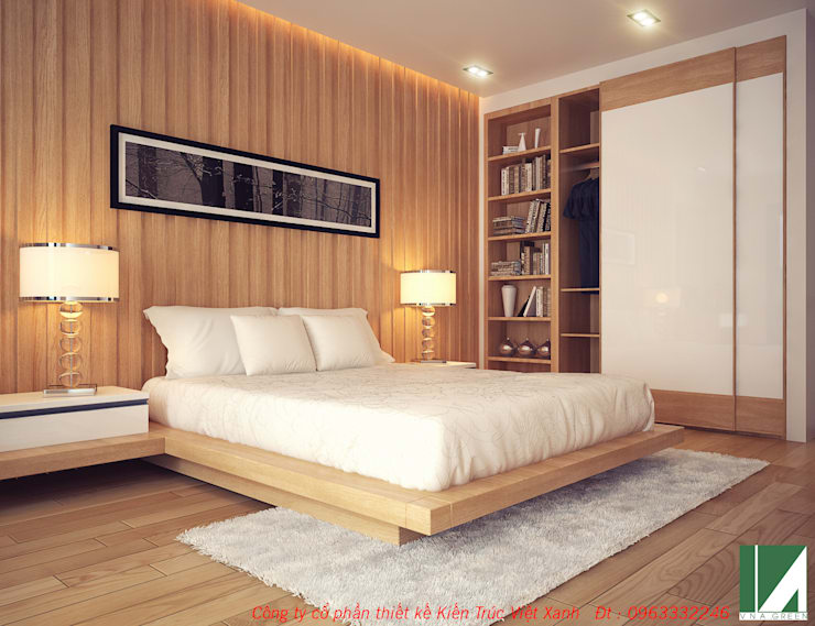 by công ty cổ phần Thiết kế Kiến trúc Việt Xanh