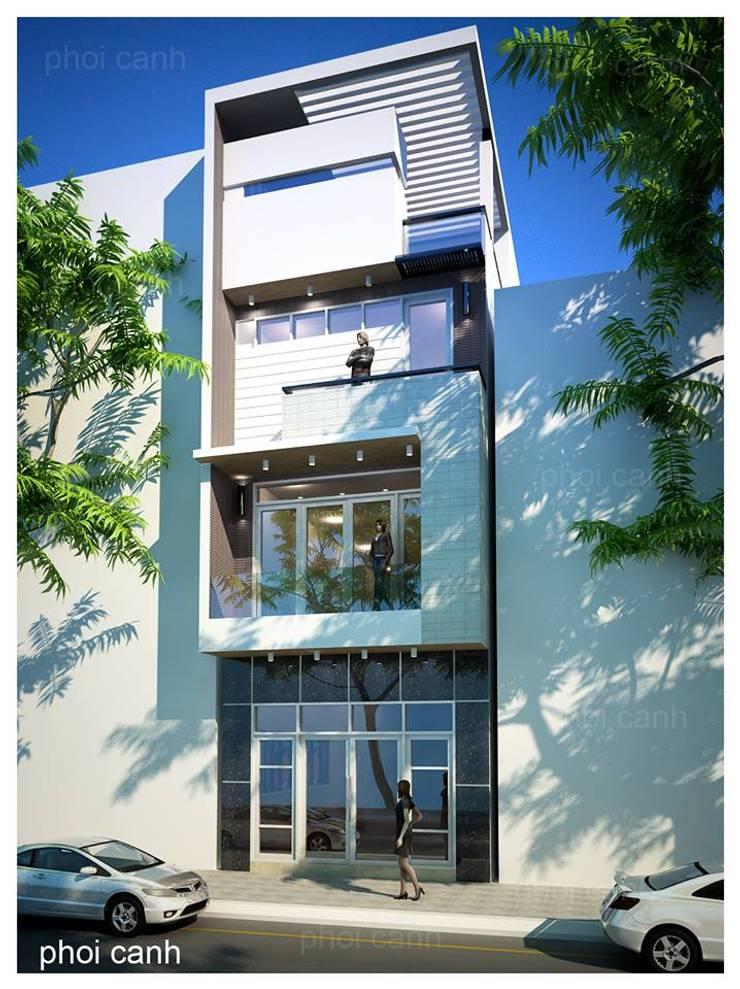 5 MẪU NHÀ PHỐ HIỆN ĐẠI CỰC ĐẸP :   by công ty cổ phần Thiết kế Kiến trúc Việt Xanh