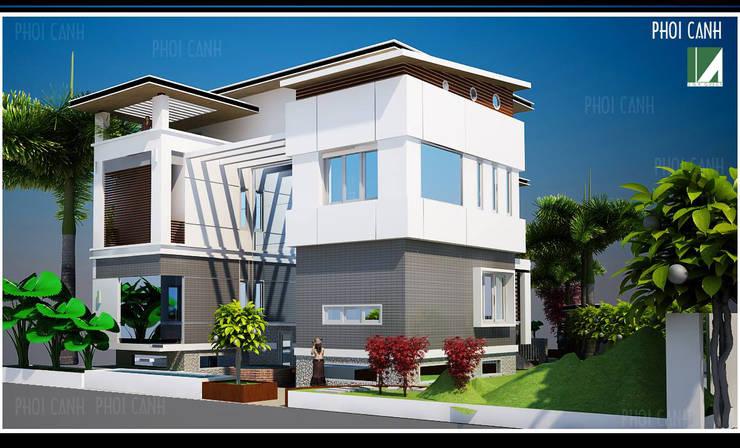 BIỆT THỰ SÂN VƯỜN HẢI DƯƠNG:   by công ty cổ phần Thiết kế Kiến trúc Việt Xanh
