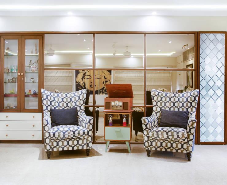 MR. VIKAS SHAH:  Living room by Urbane Storey