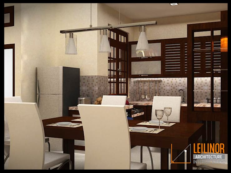 Dining room by CV Leilinor Architect