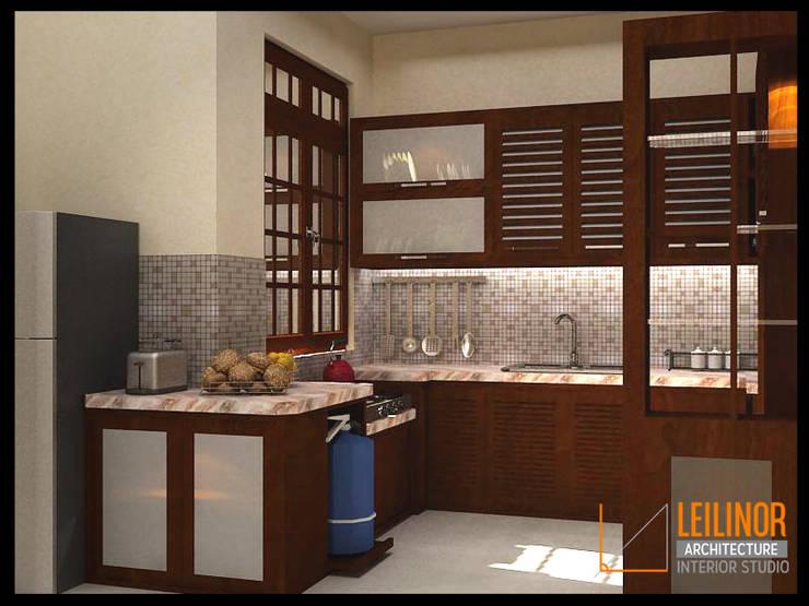 modern Kitchen by CV Leilinor Architect
