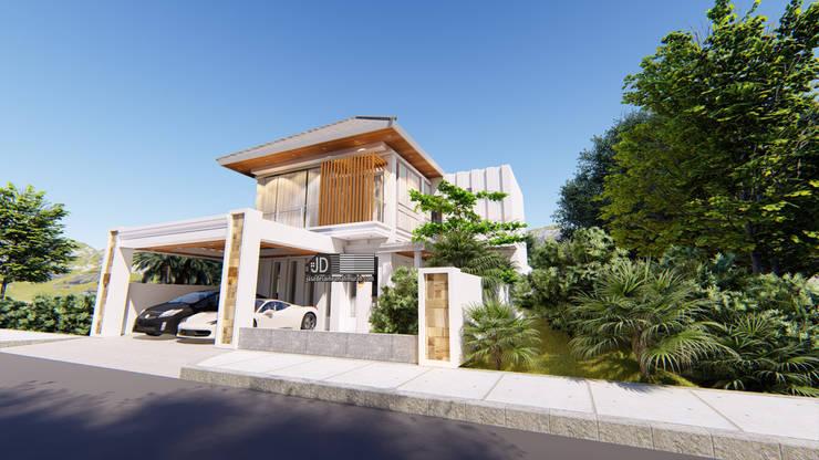 Desain Rumah Modern Bapak Barik Di Malang:   by Wahana Utama Studio