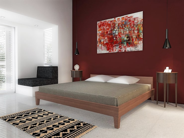 Bedroom by RRA Arquitectura