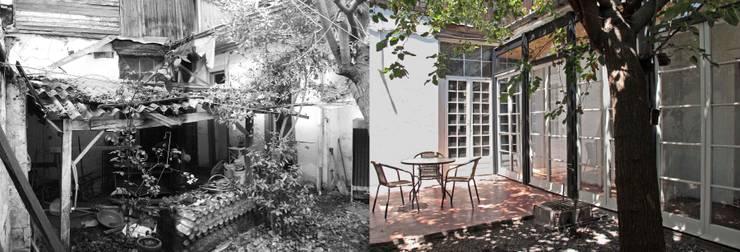 Casa Santa Isabel:  de estilo  por Crescente Böhme Arquitectos