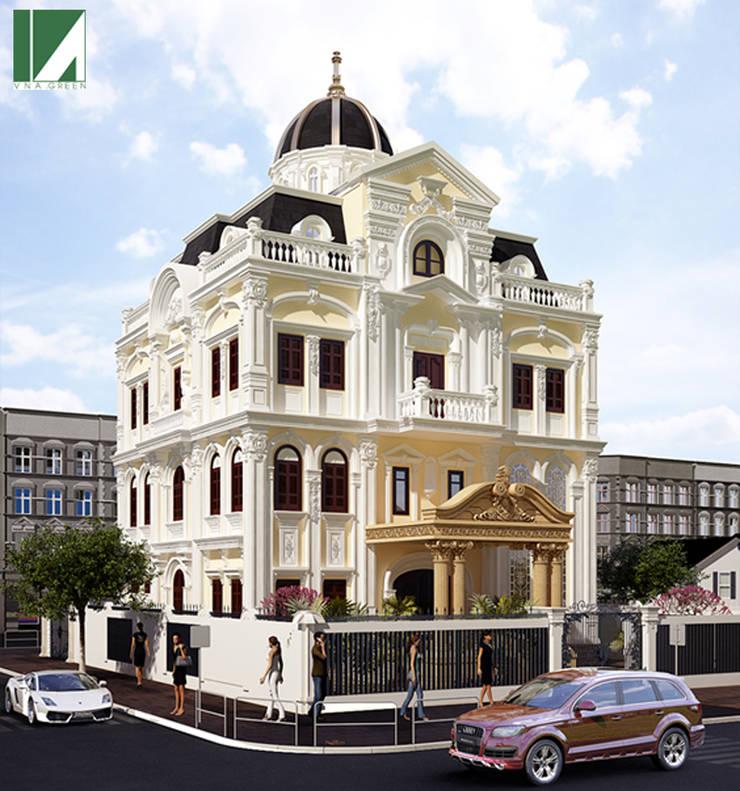 BIỆT THỰ LÂU ĐÀI ANH BIÊN :   by công ty cổ phần Thiết kế Kiến trúc Việt Xanh