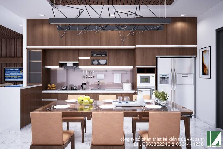 NHÀ PHỐ 2 TẦNG CỰC ĐẸP :   by công ty cổ phần Thiết kế Kiến trúc Việt Xanh