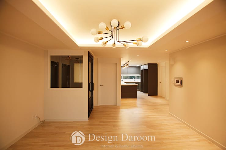 Living room by Design Daroom 디자인다룸,