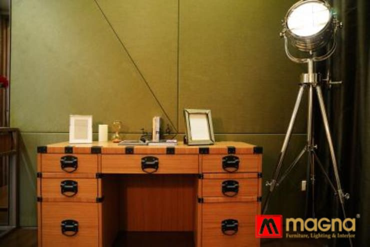 Home modern project:  Bedroom by Magna Mulia Mandiri