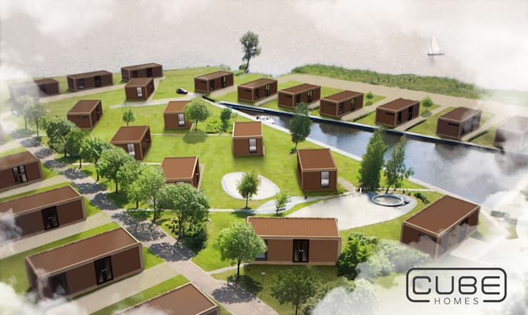 CUBE Homes Community: modern  door CUBE Homes, Modern