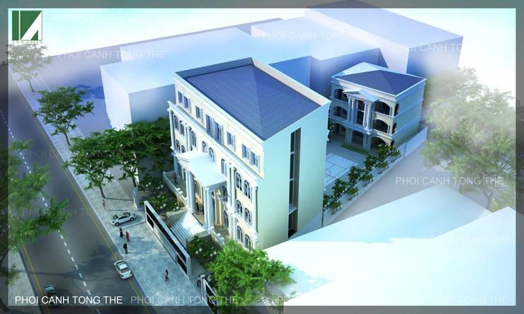 PHƯƠNG ÁN 1:   by công ty cổ phần Thiết kế Kiến trúc Việt Xanh