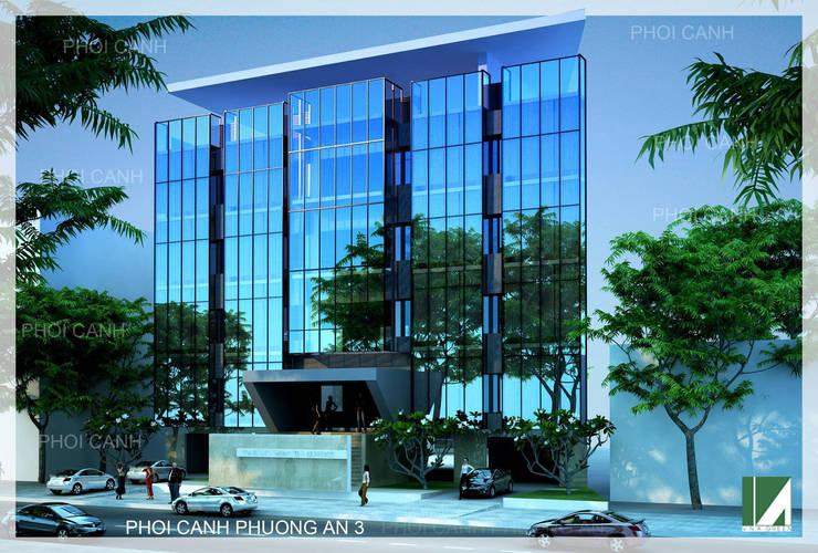 PHƯƠNG ÁN 3:   by công ty cổ phần Thiết kế Kiến trúc Việt Xanh