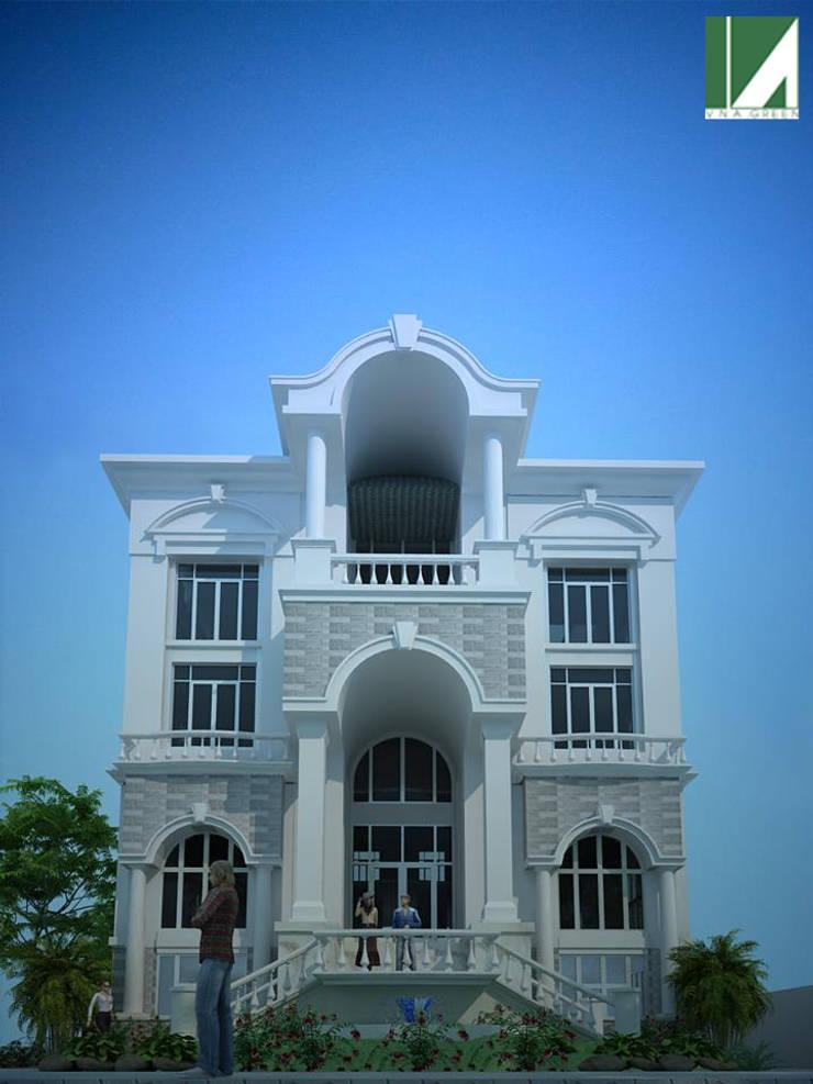 BIỆT THỰ THANH ĐA- HỒ CHÍ MINH :   by công ty cổ phần Thiết kế Kiến trúc Việt Xanh