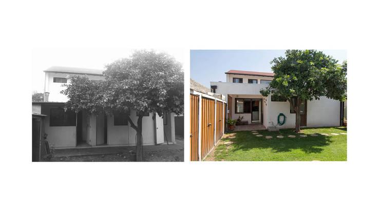 Casa Simón Gonzalez:  de estilo  por Crescente Böhme Arquitectos