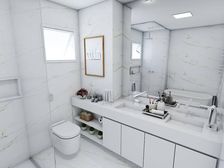 Baños de estilo  por Studio M Arquitetura, Clásico