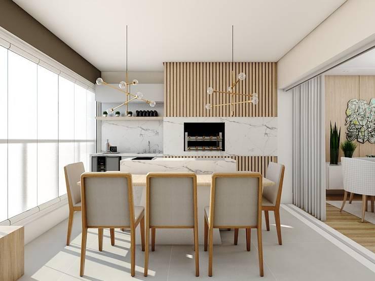Jardines de estilo  por Studio M Arquitetura, Clásico
