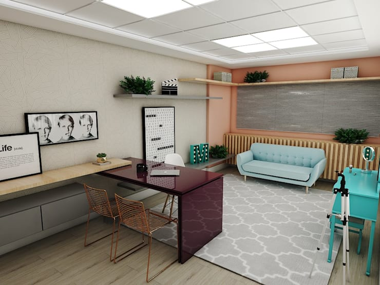 Ruang Komersial oleh Studio M Arquitetura, Skandinavia
