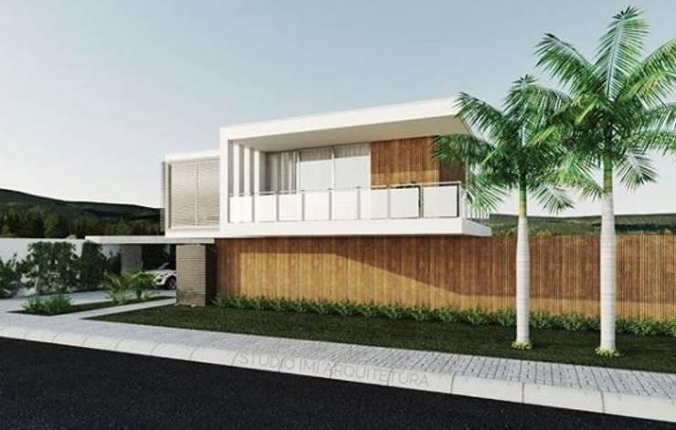 Minimalistische Häuser von Studio M Arquitetura Minimalistisch