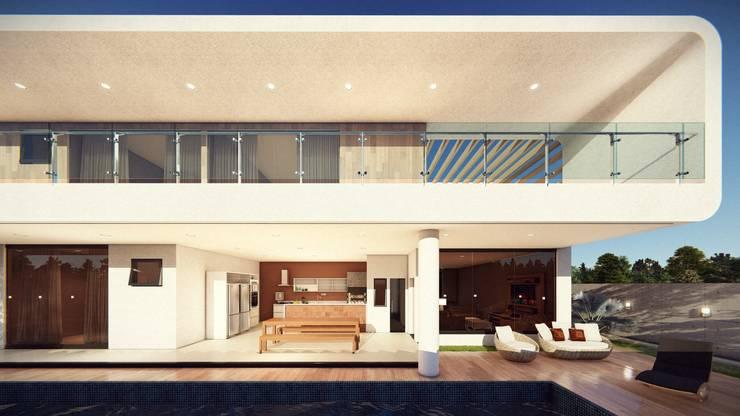 Detalhes!: Casas  por Vortice Arquitetura