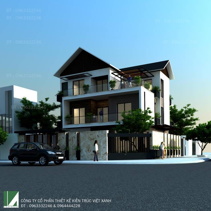 BIỆT THỰ ANH THÀNH – VINH TÂN:   by công ty cổ phần Thiết kế Kiến trúc Việt Xanh