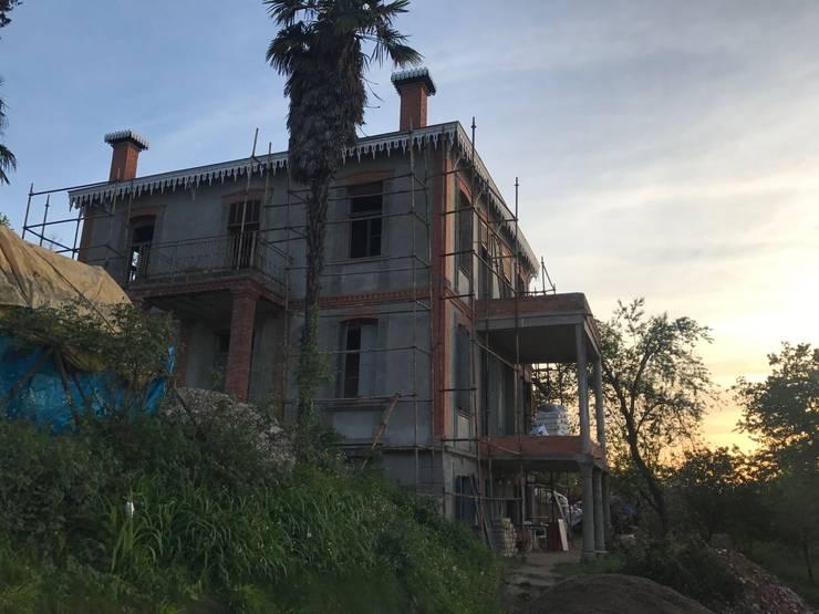 Öykü İç Mimarlık – Konak Dışarıdan Görünüş 2:  tarz Müstakil ev