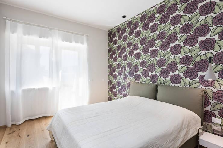 غرفة نوم تنفيذ Grippo+Murzi Architetti