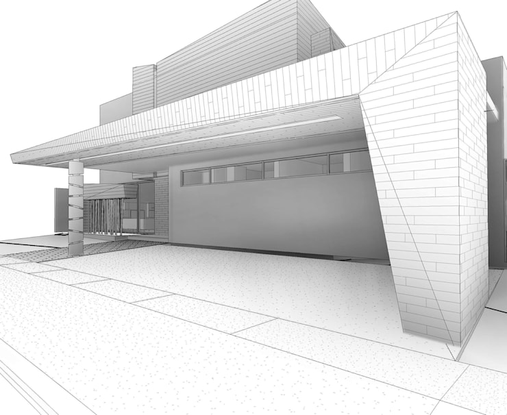 Casa Blanco :  de estilo  por Facere Arquitectura, Moderno